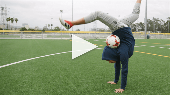 Freestyle Soccer with Caitlyn Schrepfer